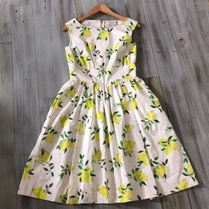 Kate Spade Lemon Dress NWT